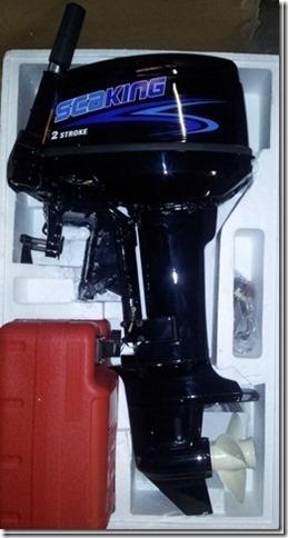 Seaking 15hp 2 Stroke Outboard Engine Short Shaft