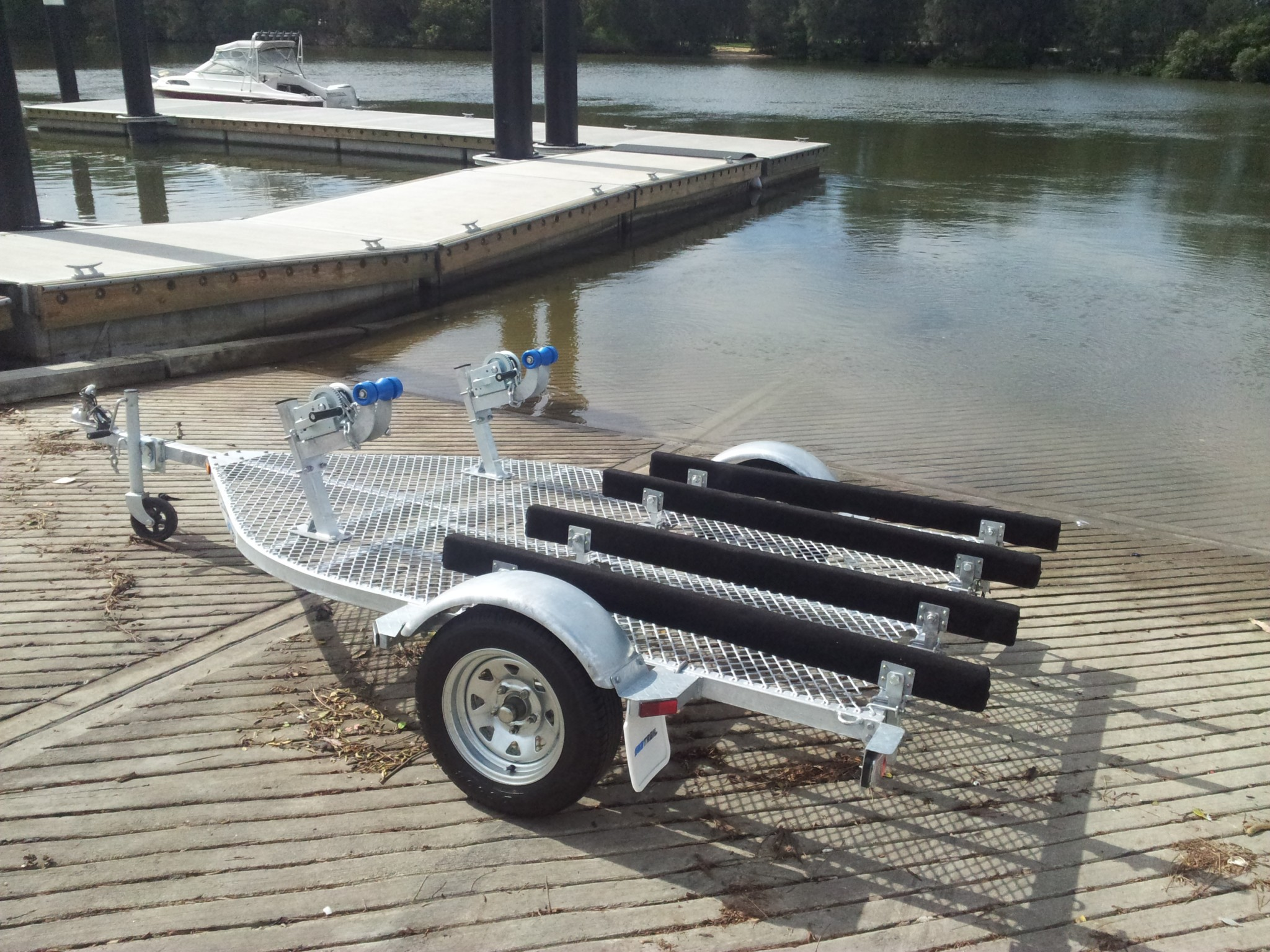 Seatrail Double Standup Pwc Trailer Dblsupwc Suits 2 X