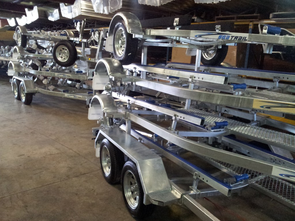 Galvanised Boat Trailers